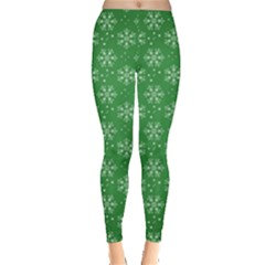 Snowflake Vector Pattern Leggings
