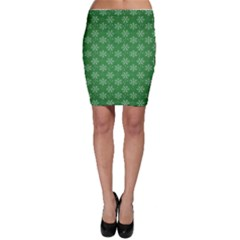 Snowflake Vector Pattern Bodycon Skirt