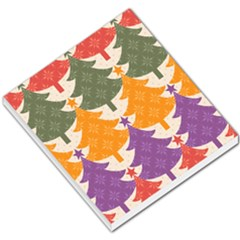 Tree Christmas Pattern Small Memo Pads