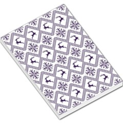 Simple Christmas Pattern Seamless Vectors  Large Memo Pads