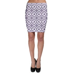 Simple Christmas Pattern Seamless Vectors  Bodycon Skirt