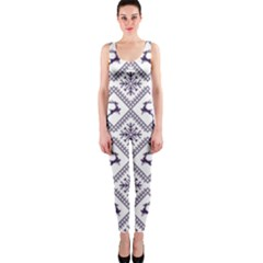 Simple Christmas Pattern Seamless Vectors  Onepiece Catsuit