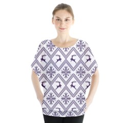 Simple Christmas Pattern Seamless Vectors  Blouse