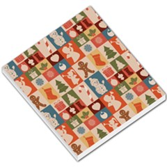 Xmas  Cute Christmas Seamless Pattern Small Memo Pads