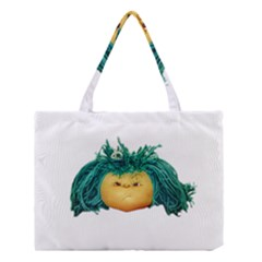 Angry Girl Doll Medium Tote Bag