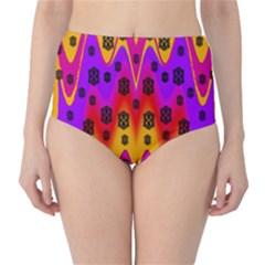 The Big City High Waist Bikini Bottoms