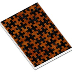 Puzzle1 Black Marble & Brown Marble Large Memo Pads