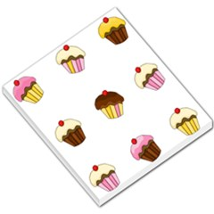 Colorful cupcakes  Small Memo Pads