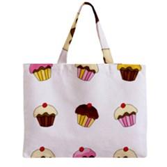 Colorful Cupcakes  Medium Tote Bag