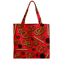 Bakery Zipper Grocery Tote Bag