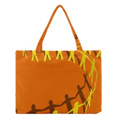 March Line Medium Tote Bag