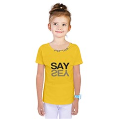 Say Yes Kids  One Piece Tee