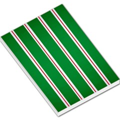 Green Line Large Memo Pads