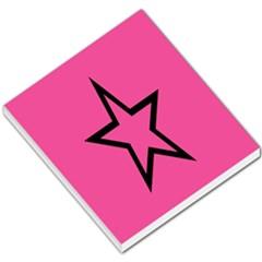 Star Small Memo Pads