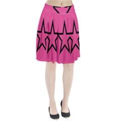 Star Pleated Skirt