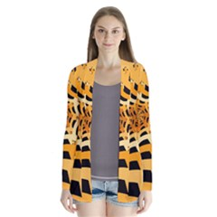 Spider Helloween Yellow Cardigans