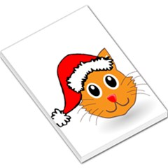 Cat Christmas Cartoon Clip Art Large Memo Pads