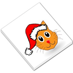 Cat Christmas Cartoon Clip Art Small Memo Pads