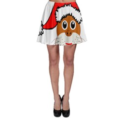 Child Of Artemis Christmas Animal Clipart Skater Skirt