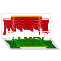 Christmas Banners Clipart #1 Dad 3d Greeting Card (8x4)
