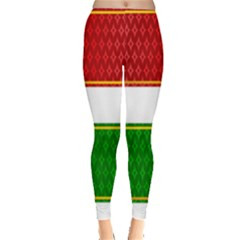 Christmas Banners Clipart Leggings