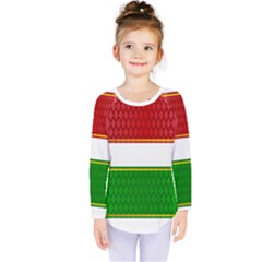 Christmas Banners Clipart Kids  Long Sleeve Tee