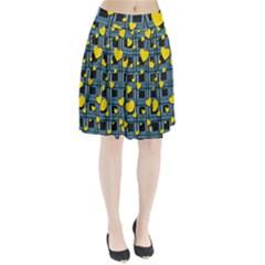 Love Design Pleated Skirt