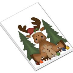 Christmas Moose Large Memo Pads