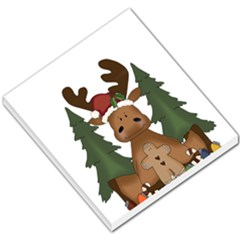 Christmas Moose Small Memo Pads