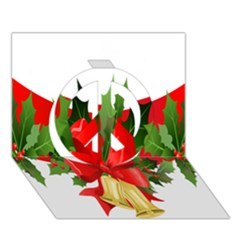Christmas Clip Art Banners Clipart Best Peace Sign 3D Greeting Card (7x5)