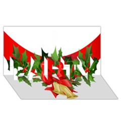 Christmas Clip Art Banners Clipart Best PARTY 3D Greeting Card (8x4)