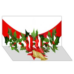 Christmas Clip Art Banners Clipart Best SORRY 3D Greeting Card (8x4)