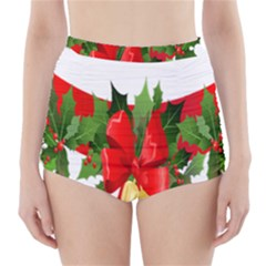 Christmas Clip Art Banners Clipart Best High Waisted Bikini Bottoms