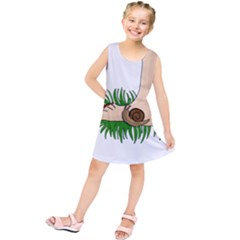 Barefoot in the grass Kids  Tunic Dress
