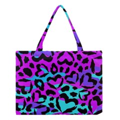 Purple Love Camo Medium Tote Bag