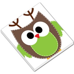 Clip Art Animals Owl Small Memo Pads