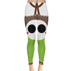 Clip Art Animals Owl Leggings
