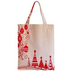Christmas Clipart Wallpaper Zipper Classic Tote Bag