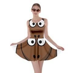 Elk Clip Art Reindeer Raindeer Elk Christmas Xmas Skater Dress