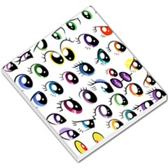 Eyes  Pattern Small Memo Pads