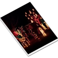 Holiday Lights Christmas Yard Decorations Large Memo Pads