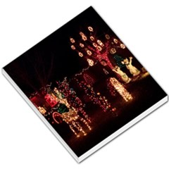 Holiday Lights Christmas Yard Decorations Small Memo Pads