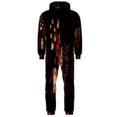 Holiday Lights Christmas Yard Decorations Hooded Jumpsuit (men)