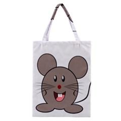 Raton Mouse Christmas Xmas Stuffed Animal Classic Tote Bag