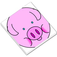 Pink Pig Christmas Xmas Stuffed Animal Small Memo Pads