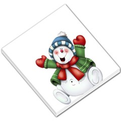 Snowman With Scarf Small Memo Pads