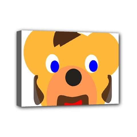Solidarity Clipart Bear Head Teddy Bear Xmas Christmas Stuffed Animal Mini Canvas 7  X 5
