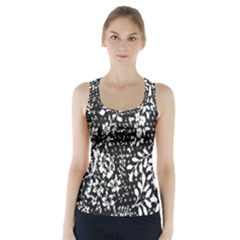 Flower Racer Back Sports Top