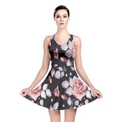 Vintage Flower  Reversible Skater Dress