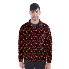 Exotic Colorful Flower Pattern  Wind Breaker (Men)